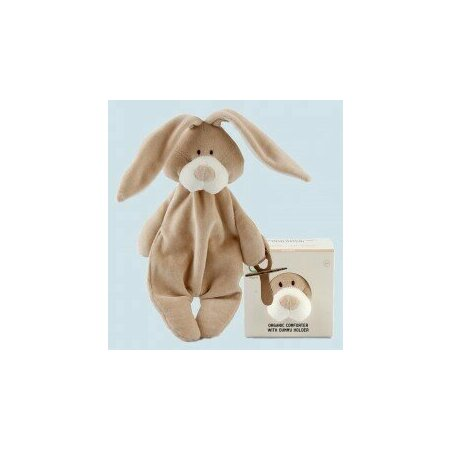 Organic comforter with dummy holder Bunny